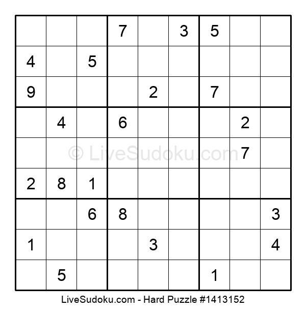 Hard Puzzle #1413152