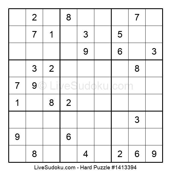 Hard Puzzle #1413394