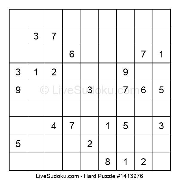 Hard Puzzle #1413976