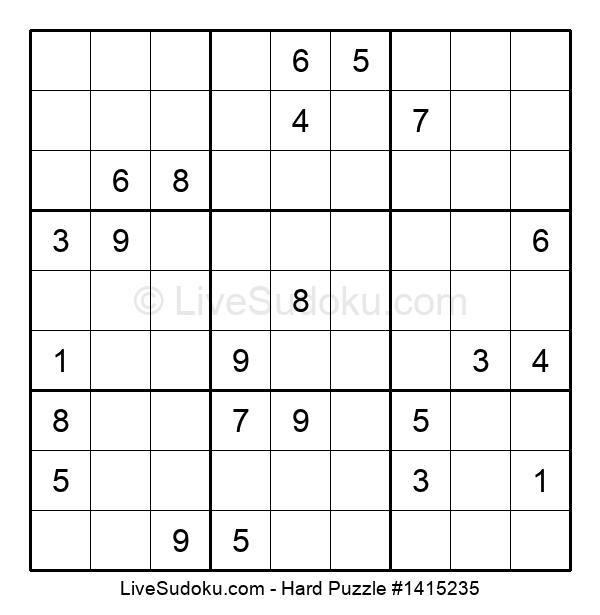 Hard Puzzle #1415235