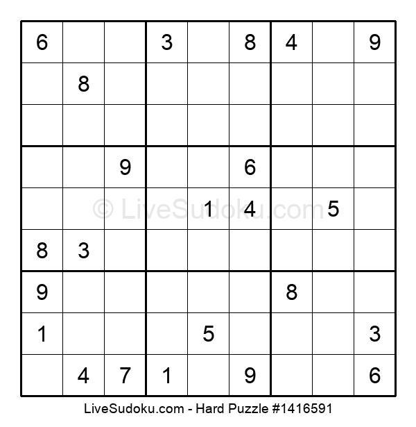 Hard Puzzle #1416591