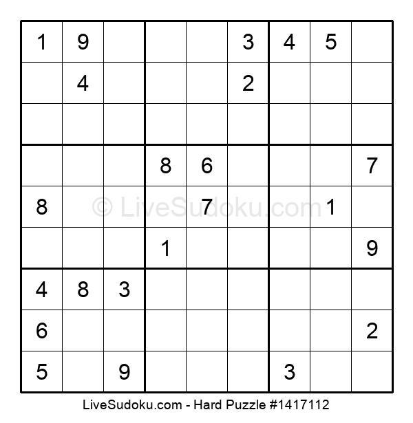 Hard Puzzle #1417112