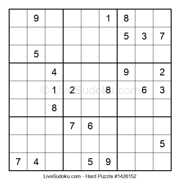 Hard Puzzle #1426152