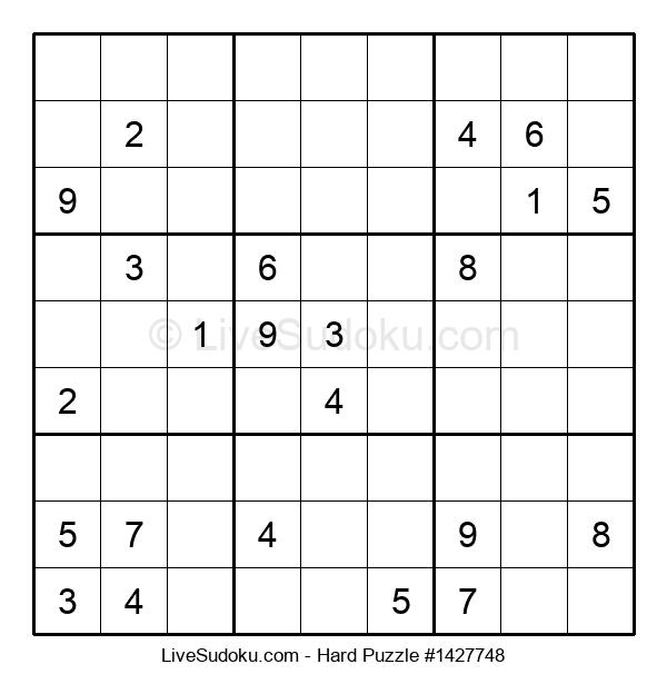 Hard Puzzle #1427748