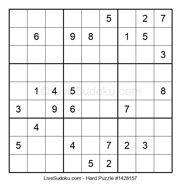 Hard Puzzle #1428157
