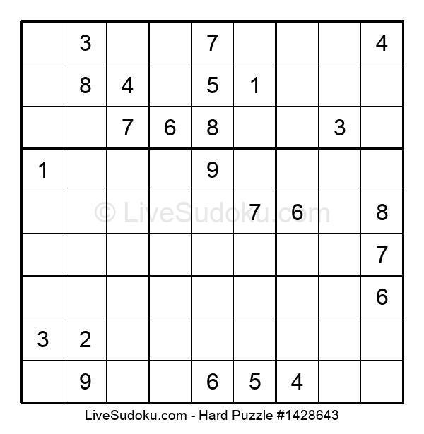 Hard Puzzle #1428643