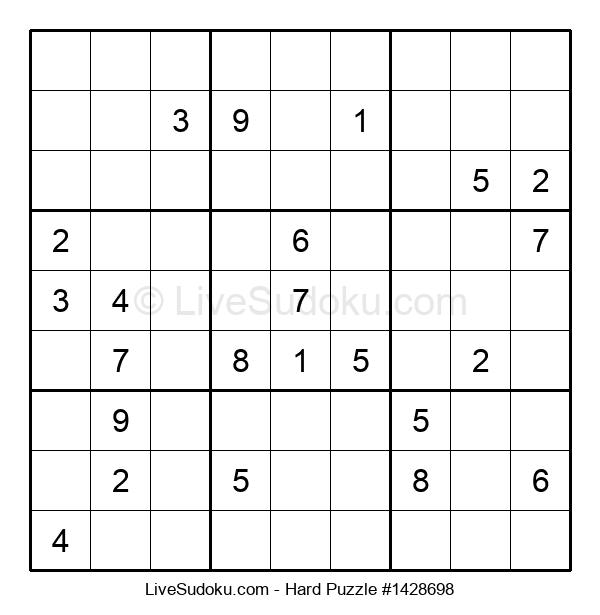 Hard Puzzle #1428698