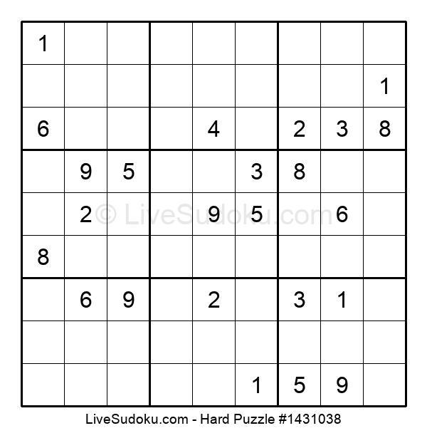 Hard Puzzle #1431038