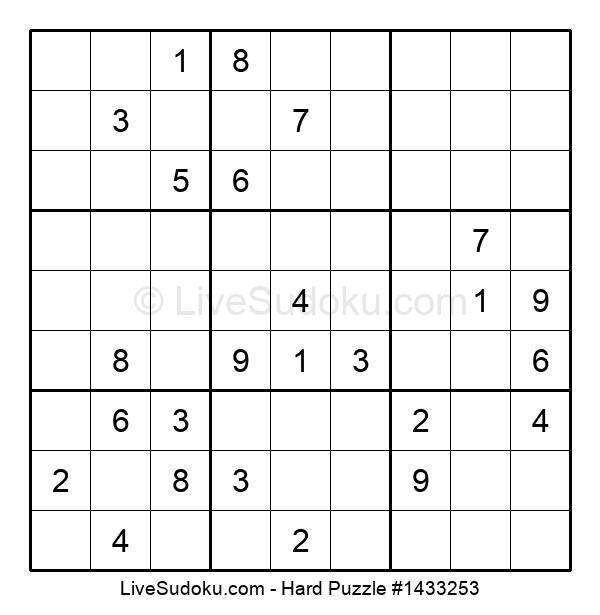 Hard Puzzle #1433253
