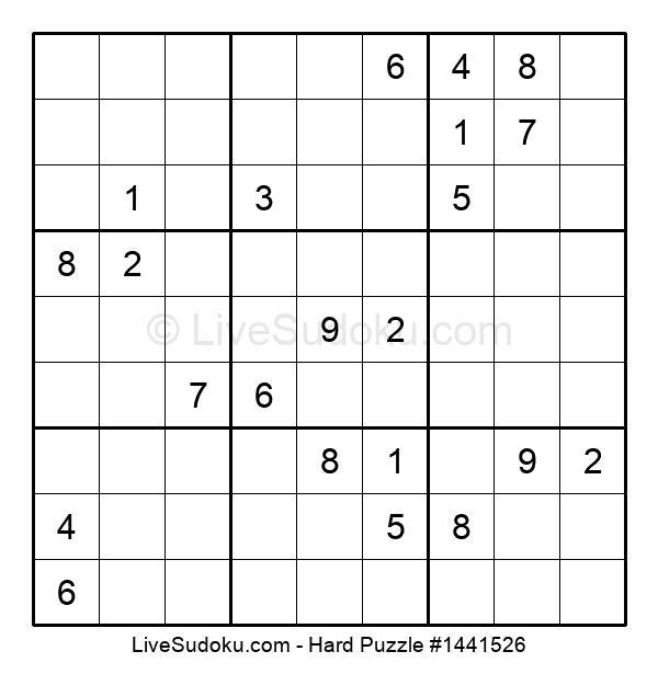Hard Puzzle #1441526