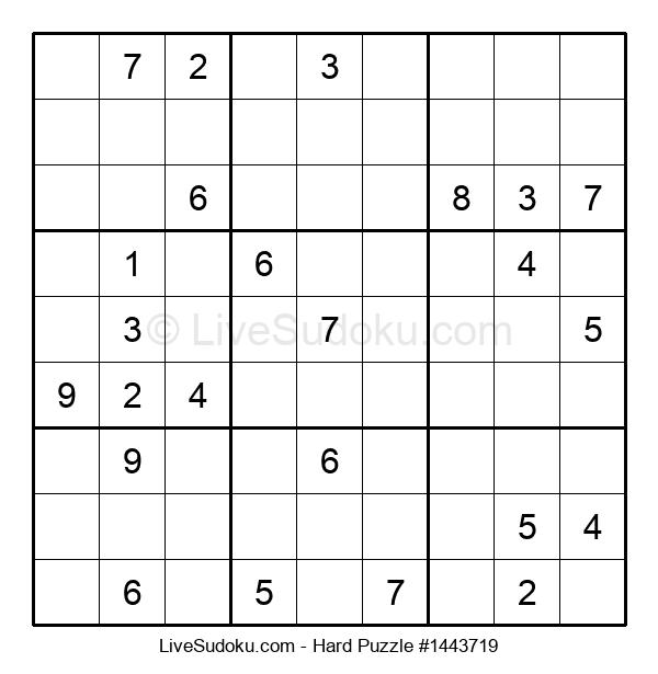 Hard Puzzle #1443719