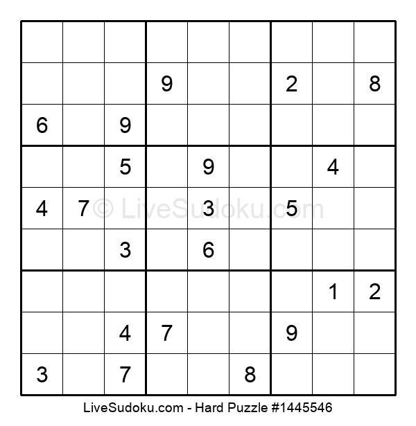 Hard Puzzle #1445546