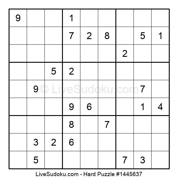 Hard Puzzle #1445637