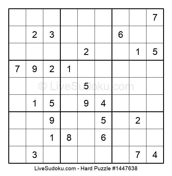 Hard Puzzle #1447638
