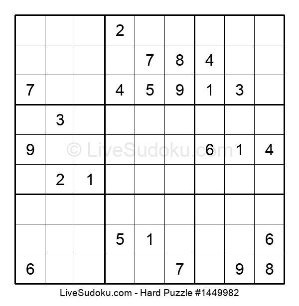 Hard Puzzle #1449982