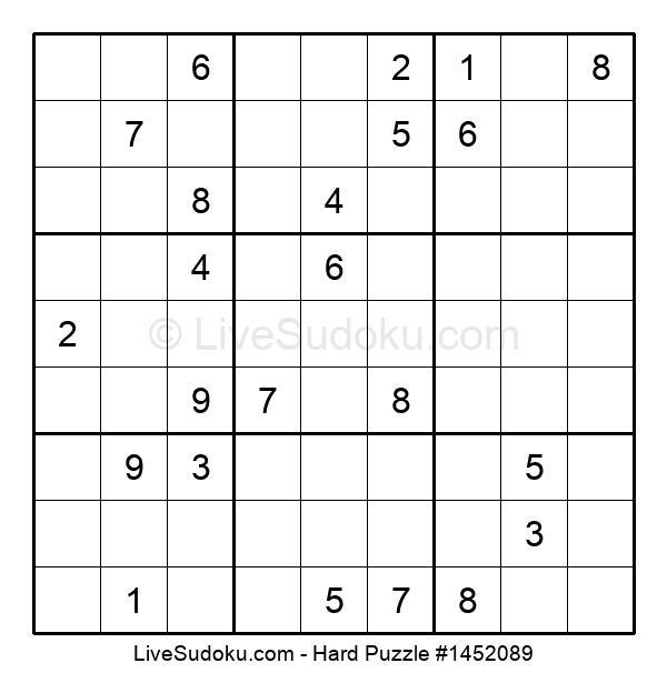 Hard Puzzle #1452089