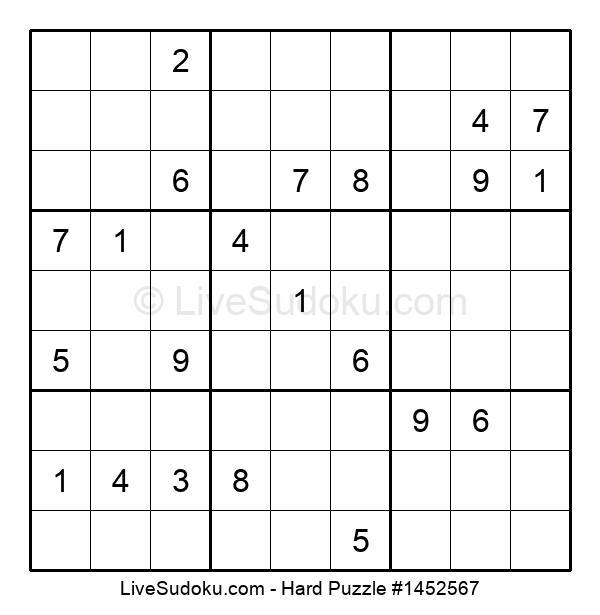 Hard Puzzle #1452567