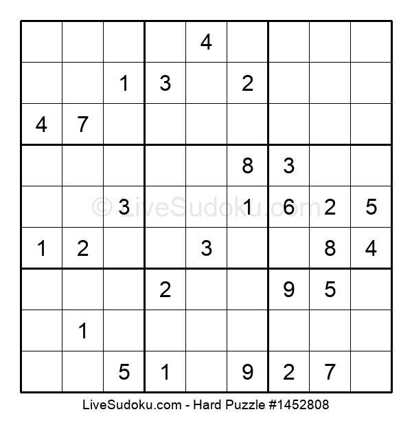 Hard Puzzle #1452808