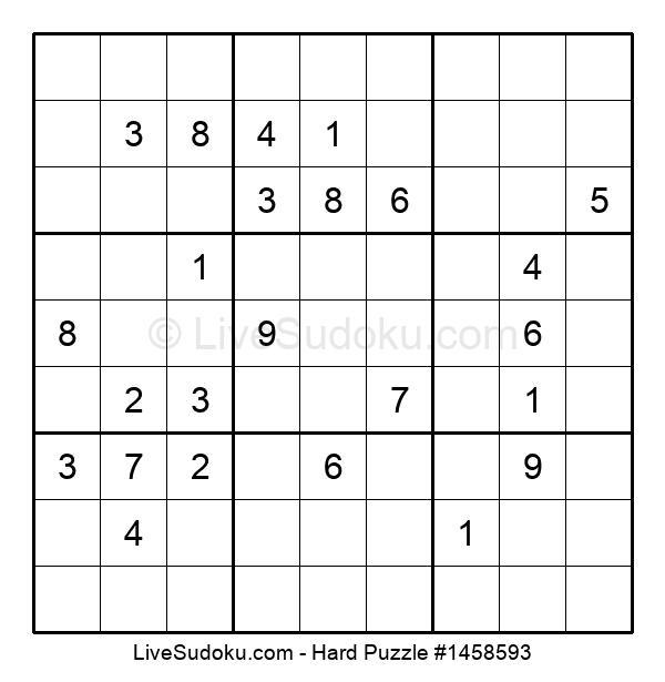Hard Puzzle #1458593