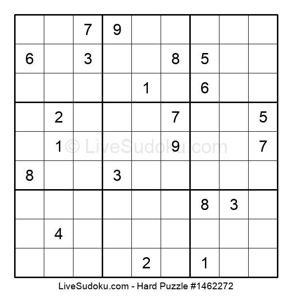 Hard Puzzle #1462272
