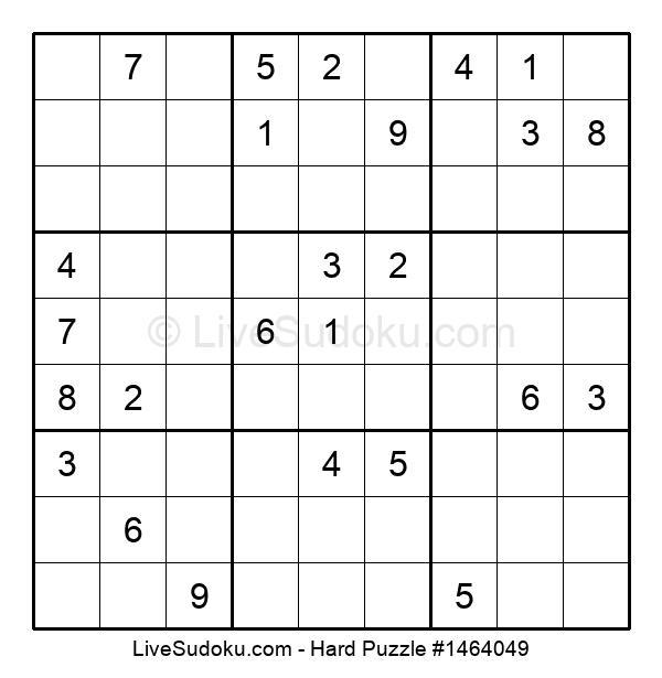Hard Puzzle #1464049