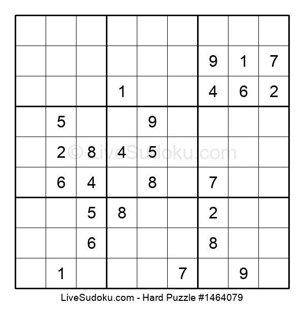 Hard Puzzle #1464079