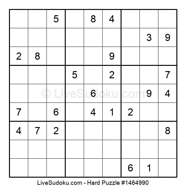 Hard Puzzle #1464990