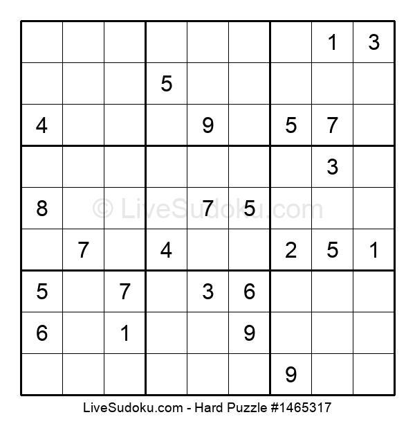 Hard Puzzle #1465317
