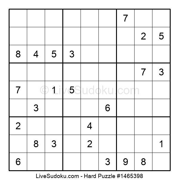Hard Puzzle #1465398