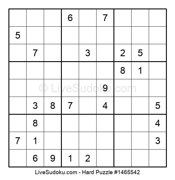 Hard Puzzle #1465542
