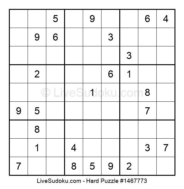 Hard Puzzle #1467773