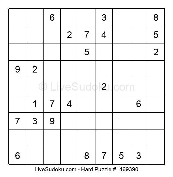 Hard Puzzle #1469390