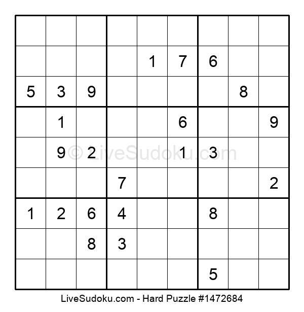 Hard Puzzle #1472684