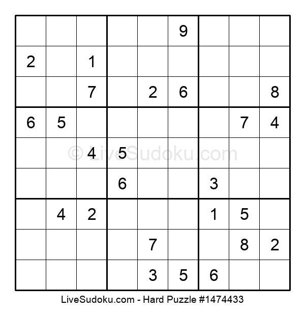 Hard Puzzle #1474433