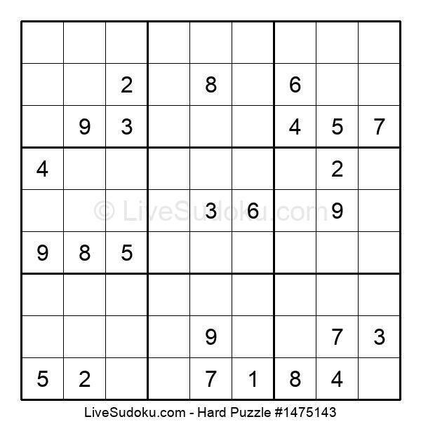 Hard Puzzle #1475143