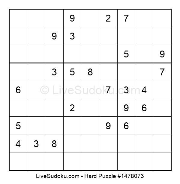 Hard Puzzle #1478073