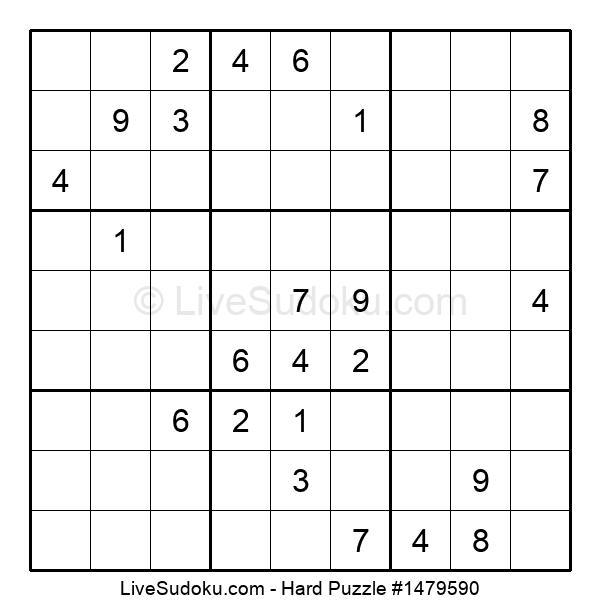Hard Puzzle #1479590