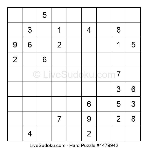 Hard Puzzle #1479942