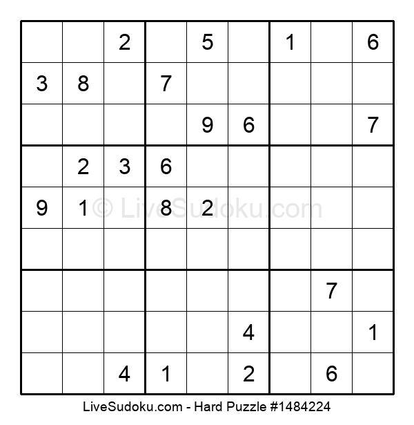 Hard Puzzle #1484224