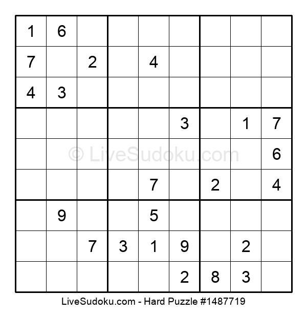 Hard Puzzle #1487719