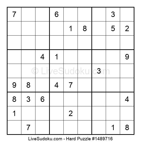 Hard Puzzle #1489716