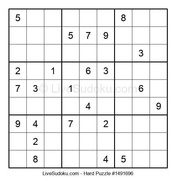 Hard Puzzle #1491696