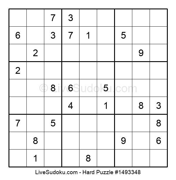 Hard Puzzle #1493348