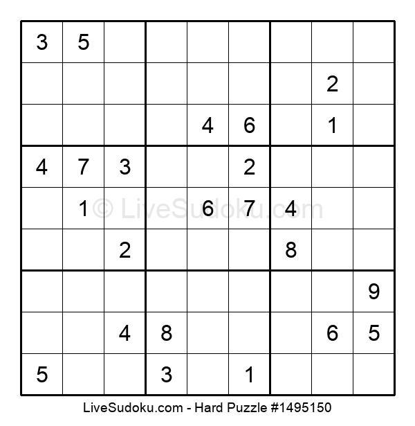 Hard Puzzle #1495150