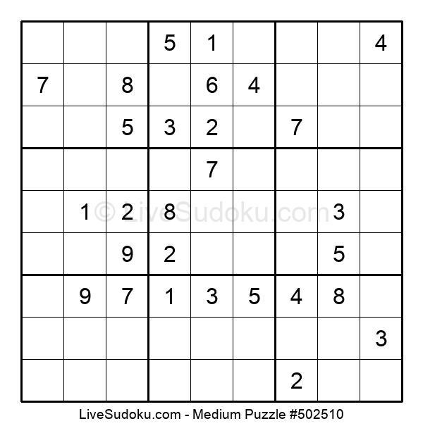Medium Puzzle #502510