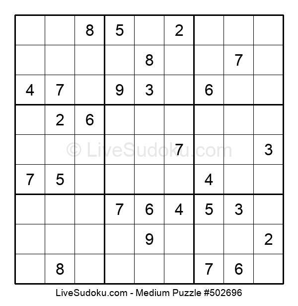 Medium Puzzle #502696