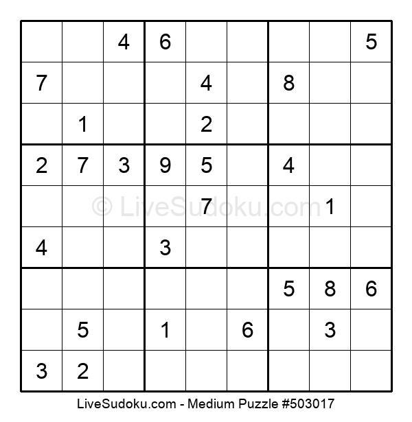 Medium Puzzle #503017