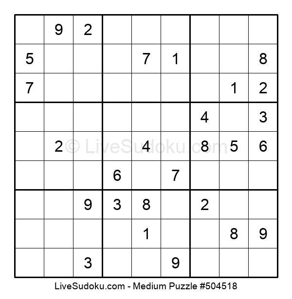 Medium Puzzle #504518