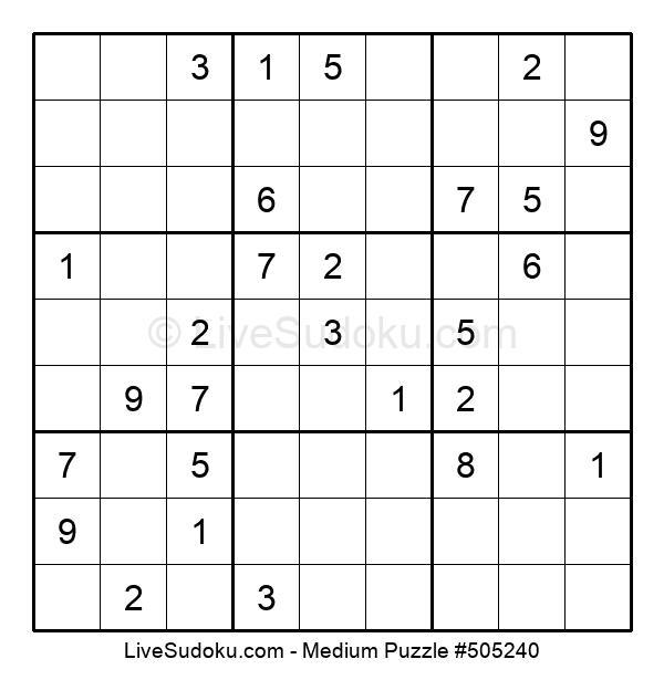 Medium Puzzle #505240