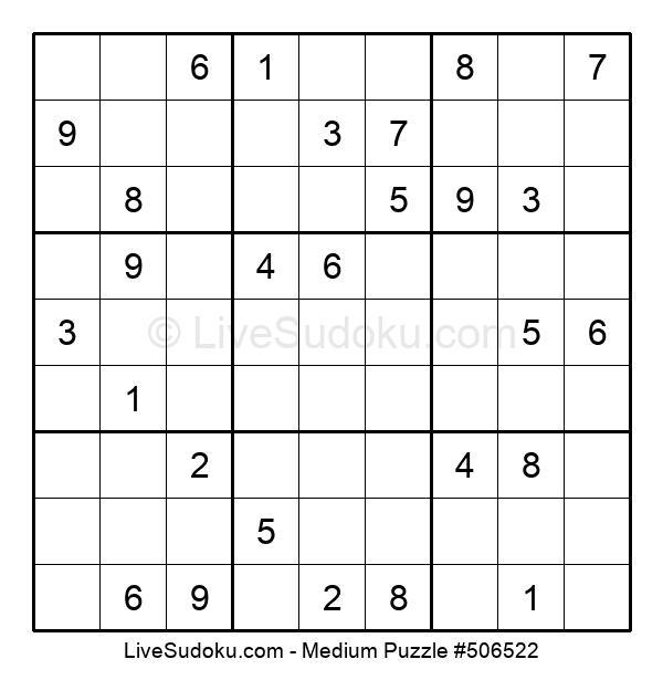 Medium Puzzle #506522